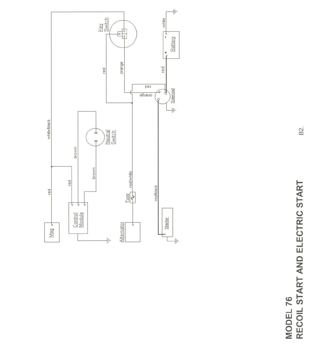 cub cadet original wiring diagram